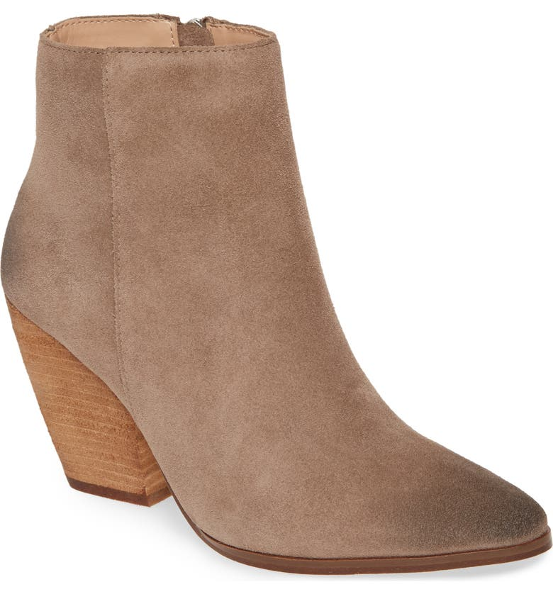 CHARLES DAVID Niche Bootie, Main, color, TAUPE SUEDE