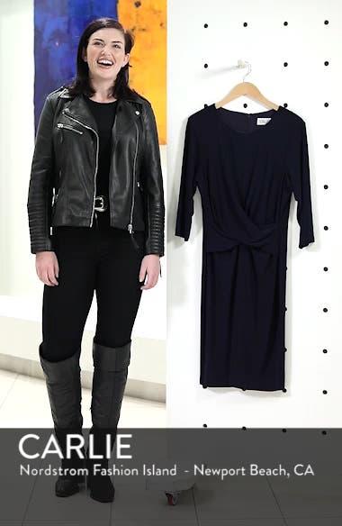 Ruched Waist Sheath Dress, sales video thumbnail