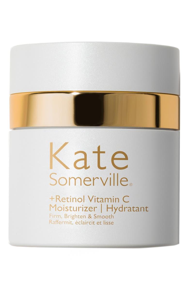 KATE SOMERVILLE<SUP>®</SUP> +Retinol Vitamin C Moisturizer Cream, Main, color, NO COLOR