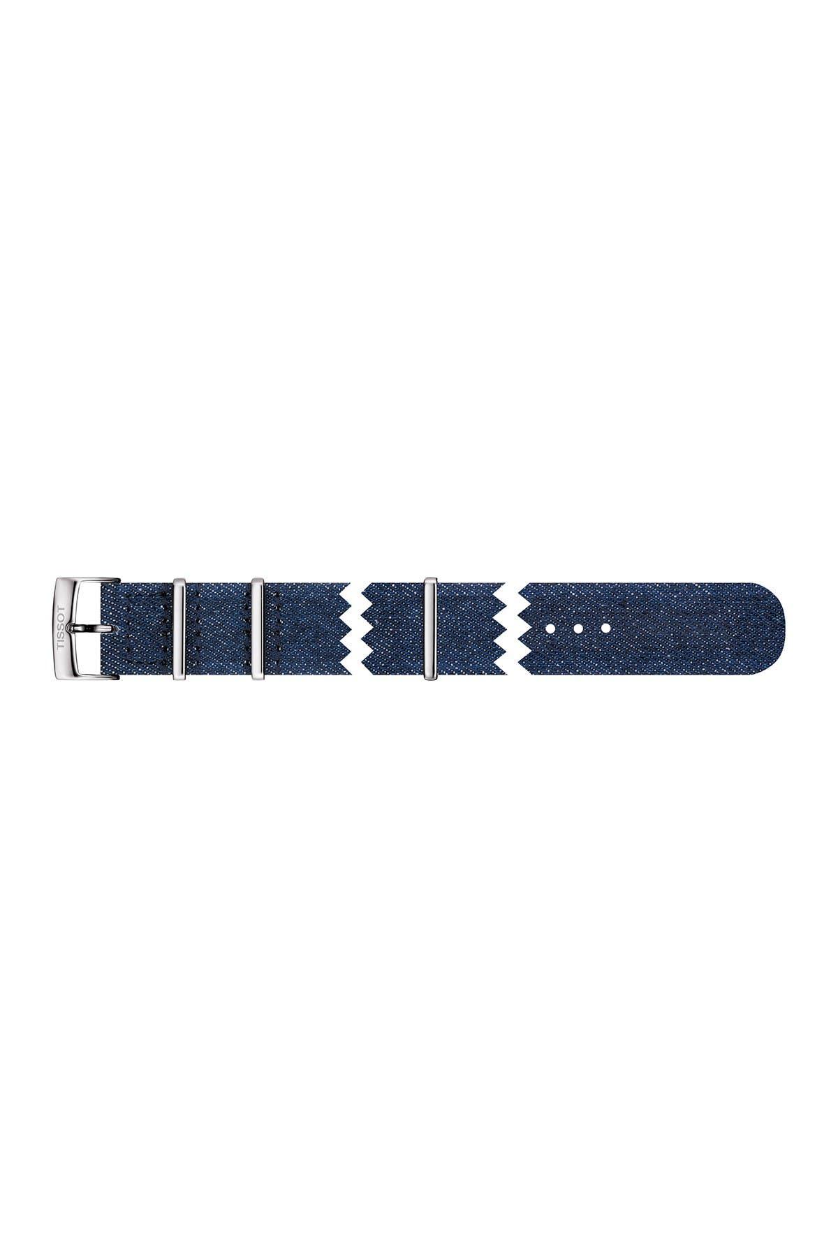 Image of Tissot Men's PRS516 Powermatic Textile Strap Watch, 42mm