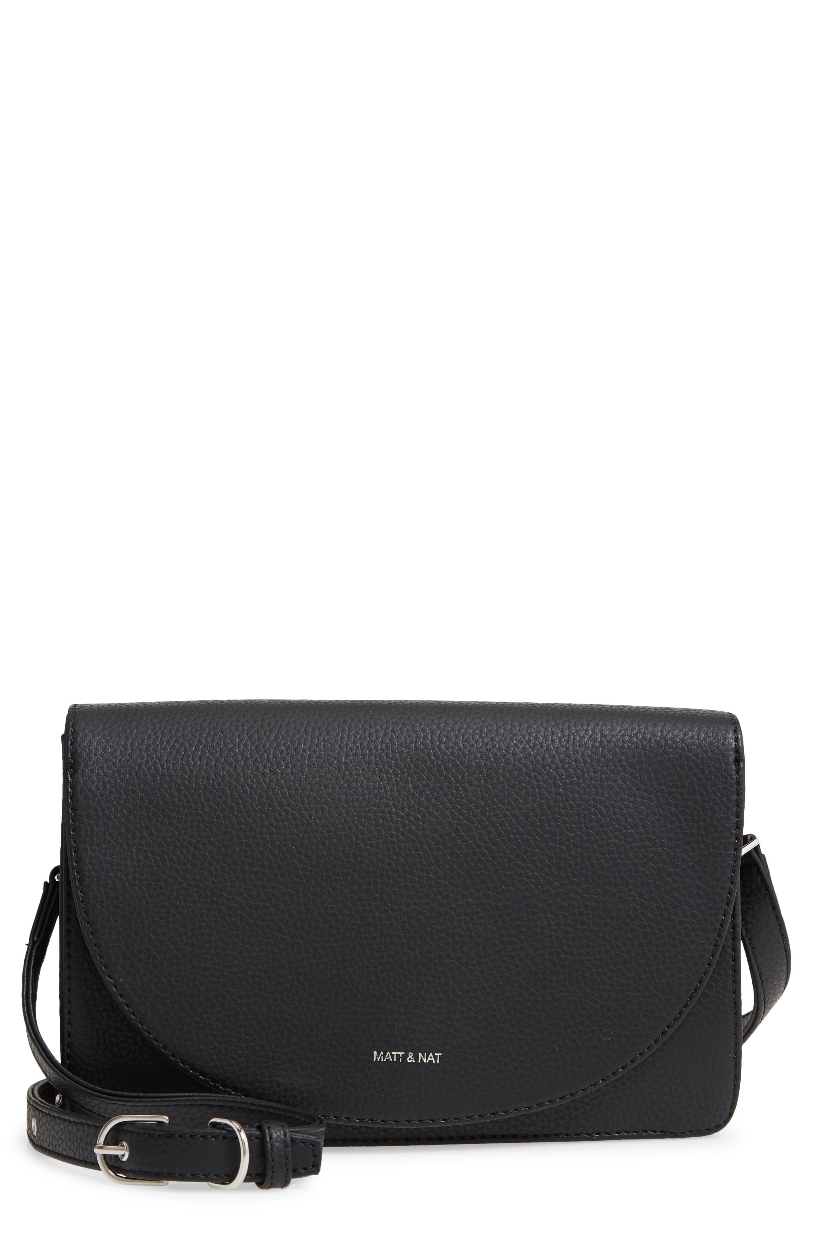 Purity Sofi Water Resistant Vegan Leather Crossbody Bag