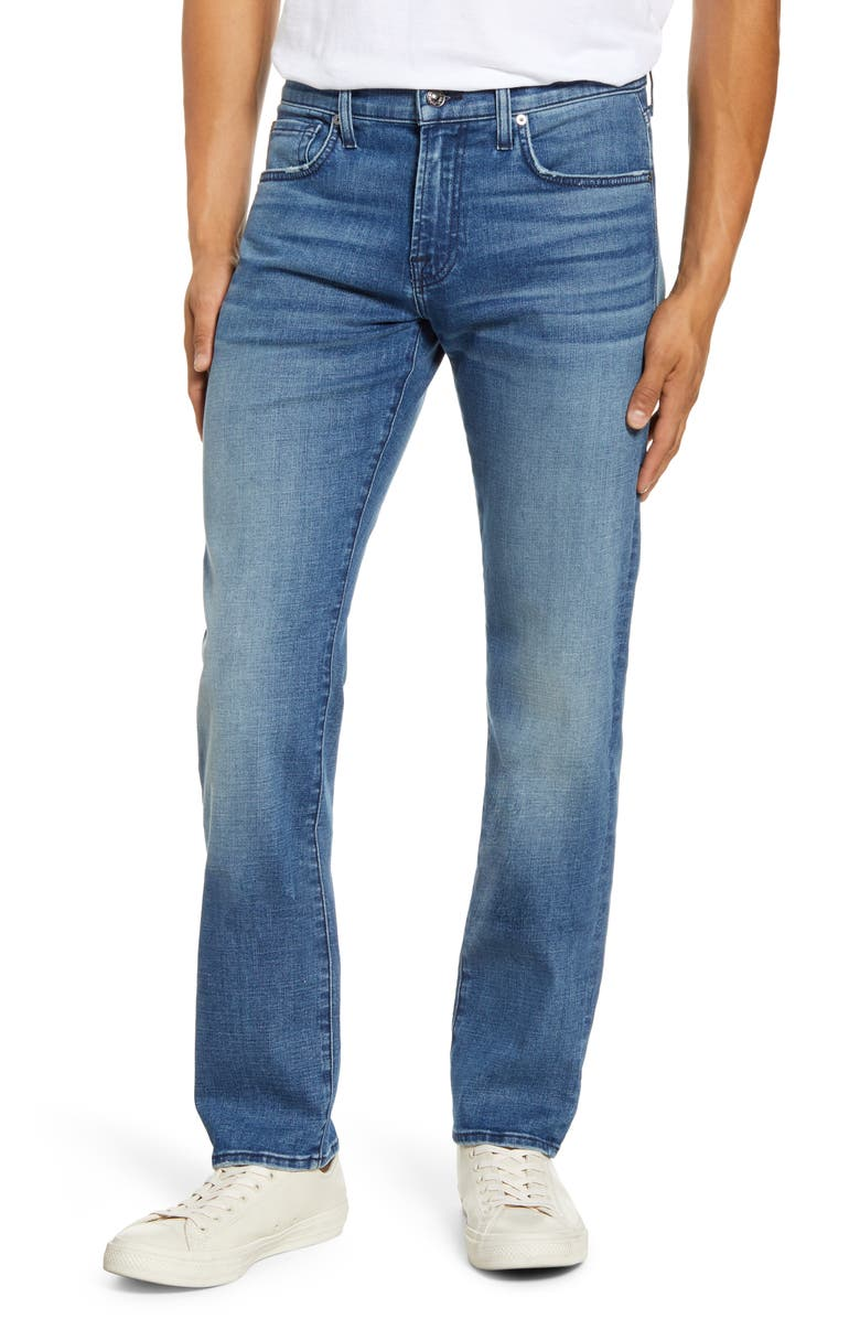 7 FOR ALL MANKIND<SUP>®</SUP> Slimmy Slim Fit Jeans, Main, color, BARING