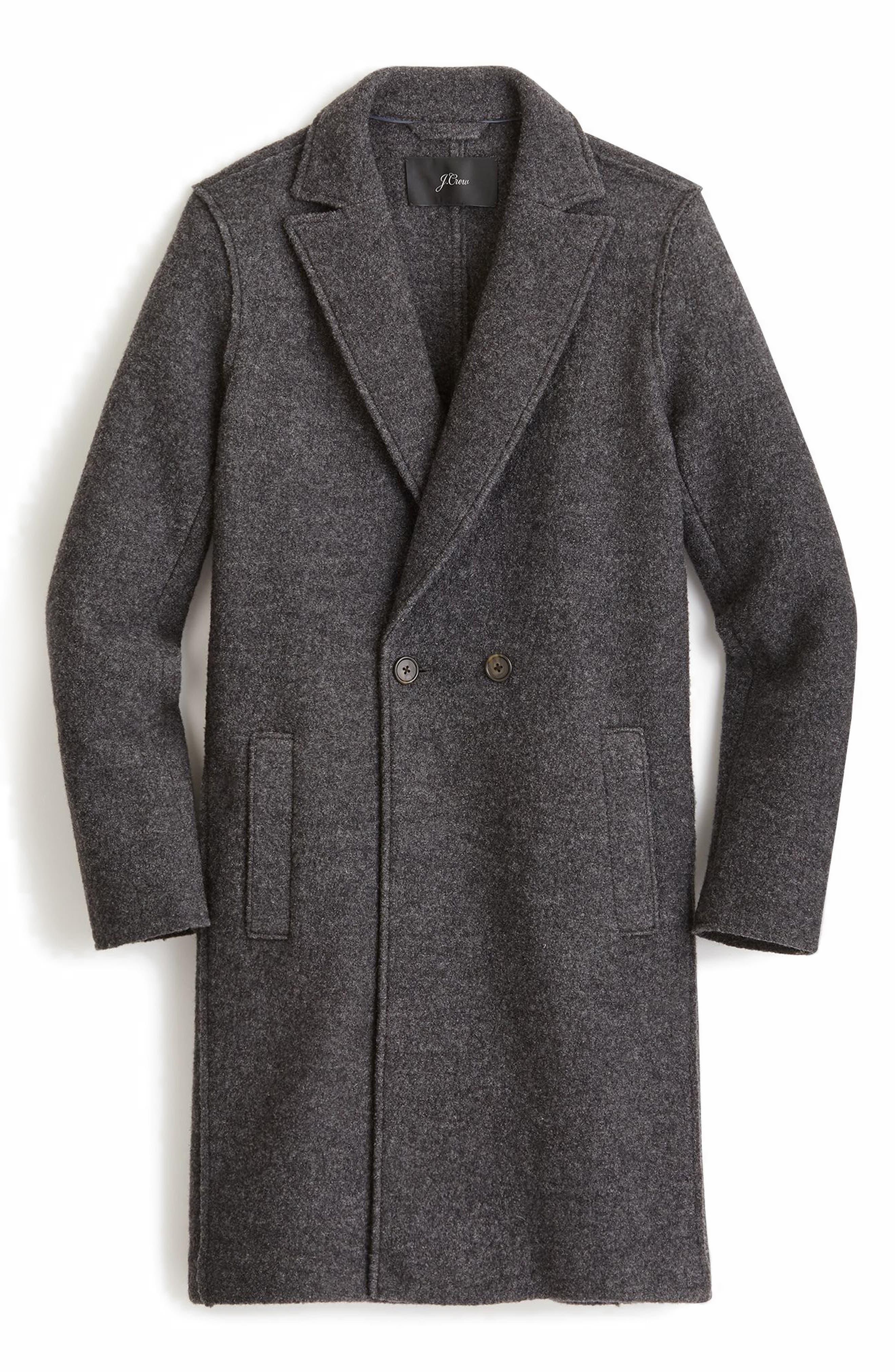 ,                             Daphne Boiled Wool Topcoat,                             Main thumbnail 34, color,                             020