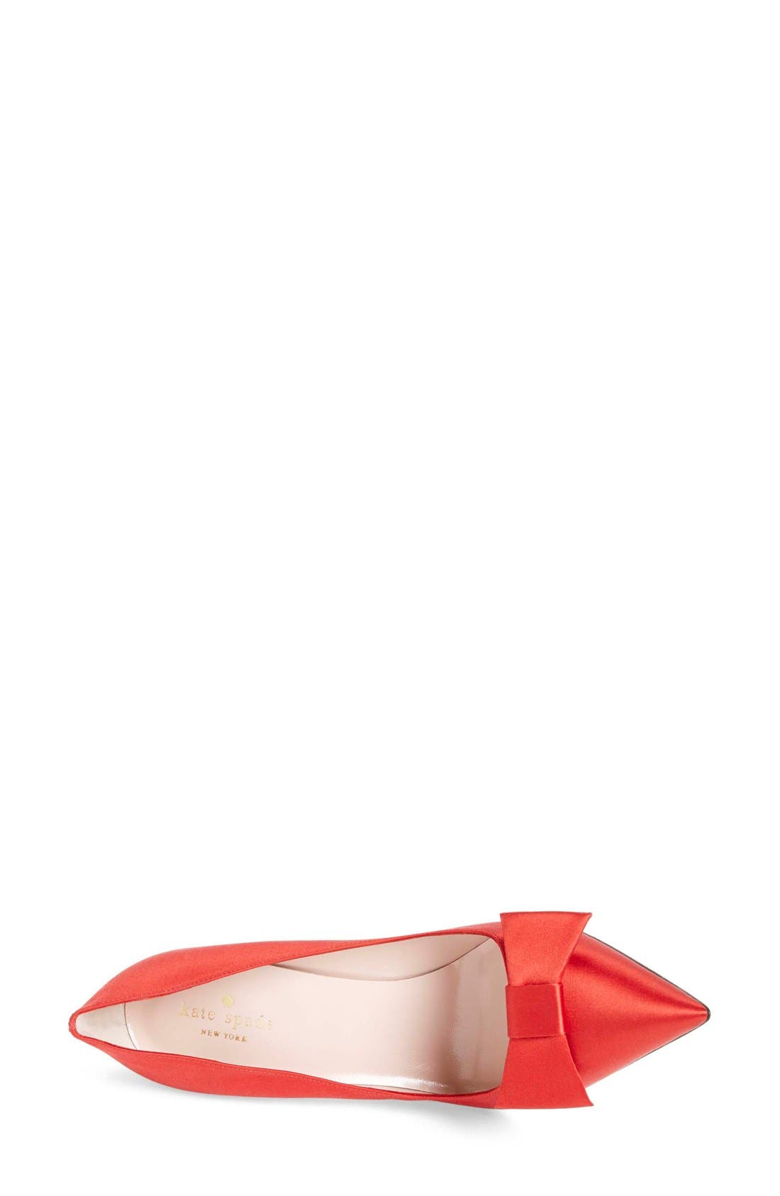 ,                             'layla' pointy toe pump,                             Alternate thumbnail 8, color,                             610