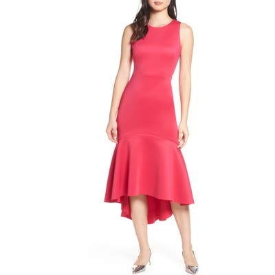 Mark + James By Badgley Mischka High/low Midi Dress, Pink