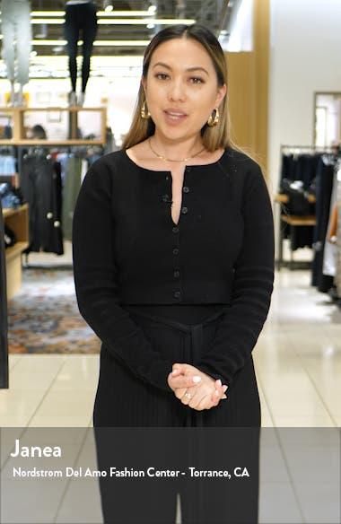 Faux Fur Collar Wool Blend Coat, sales video thumbnail