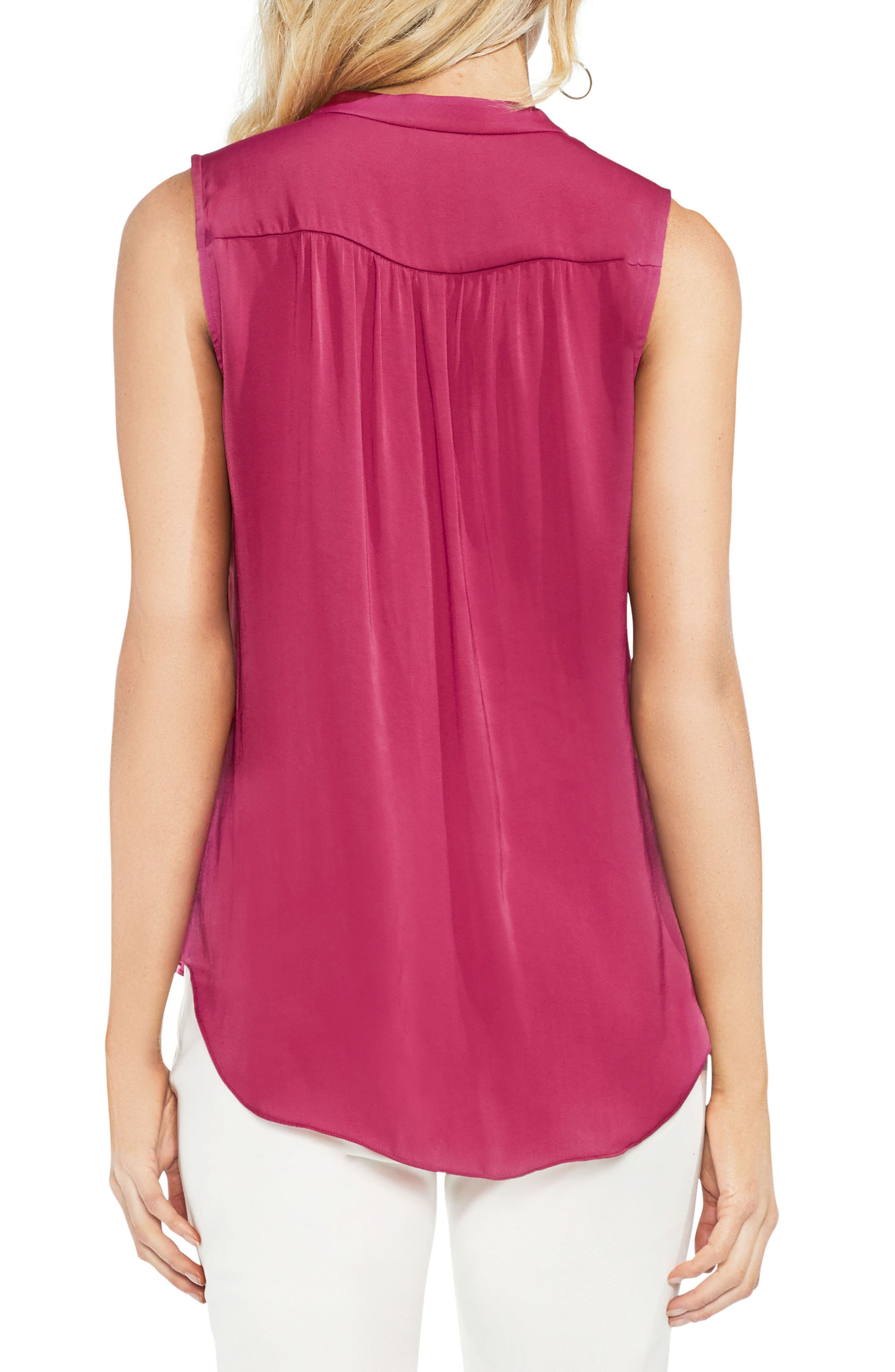 ,                             Rumpled Satin Blouse,                             Alternate thumbnail 234, color,                             654