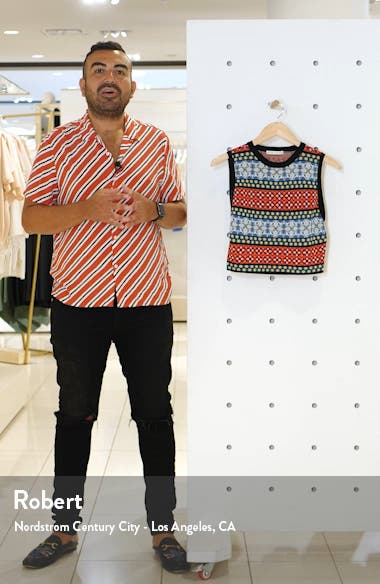 Coryn Sleeveless Knit Top, sales video thumbnail