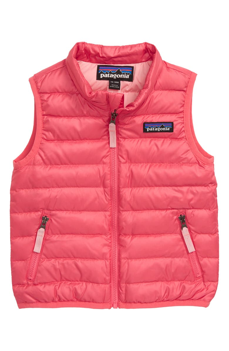 PATAGONIA Water Repellent Recycled Down Sweater Vest, Main, color, 652