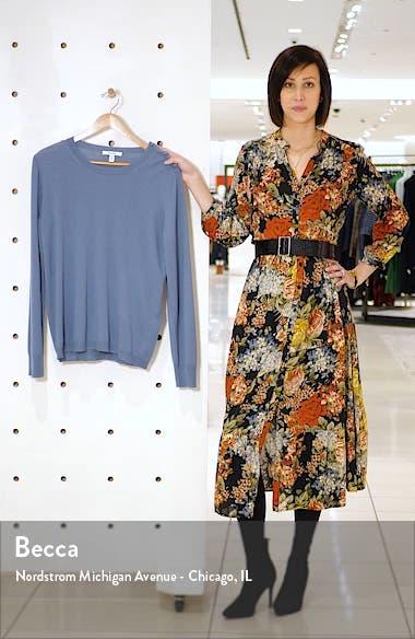 Caraibi Shoulder Button Silk & Cashmere Sweater, sales video thumbnail
