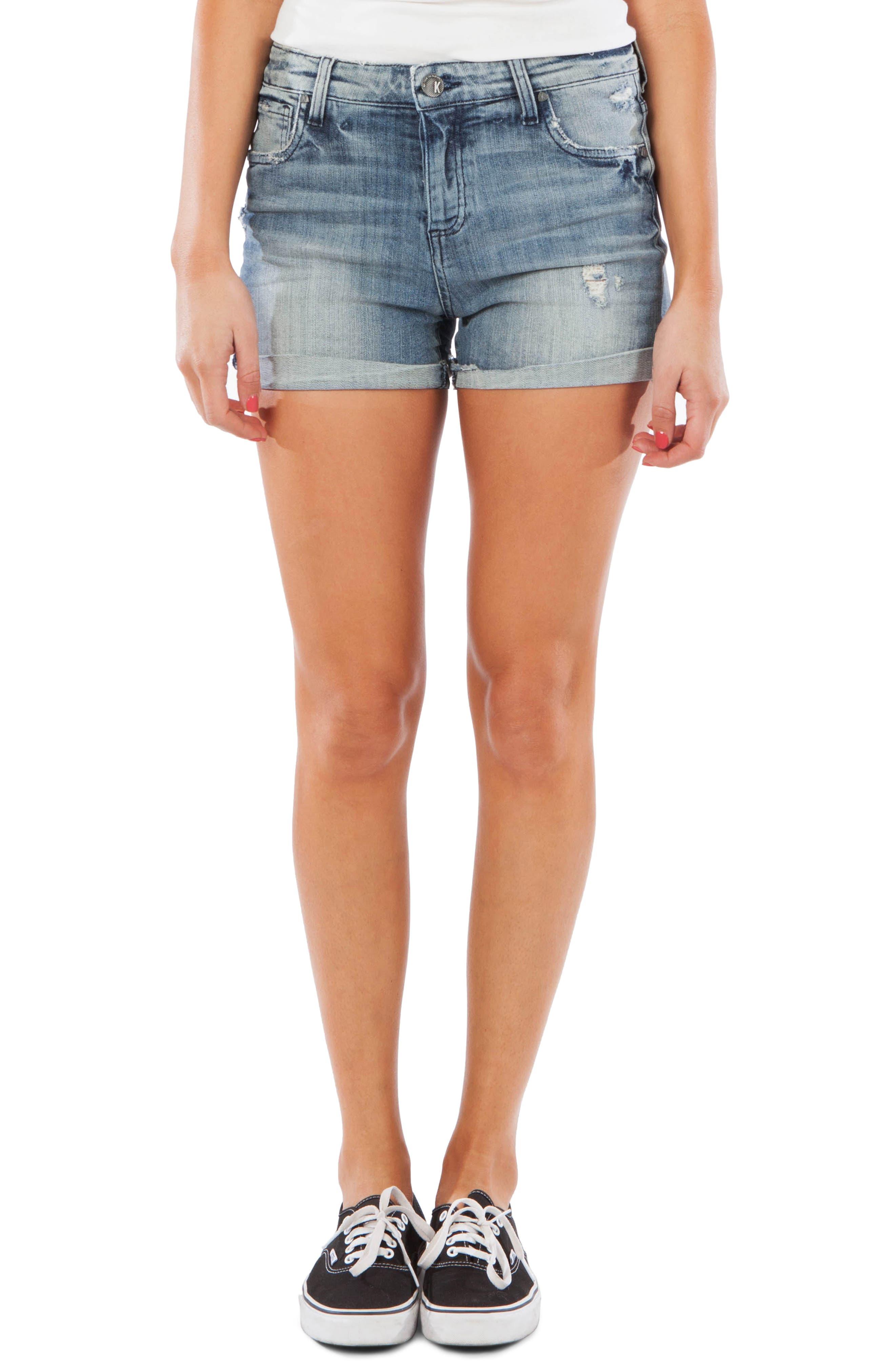 Madeline Boyfriend Shorts, Main, color, COMMIT