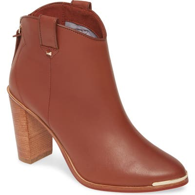 Ted Baker London Kasidy Bootie- Brown