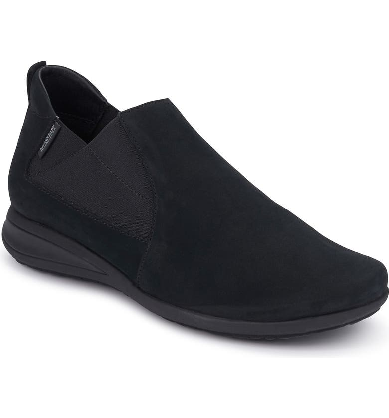 MEPHISTO Nellie Slip-On, Main, color, BLACK LEATHER