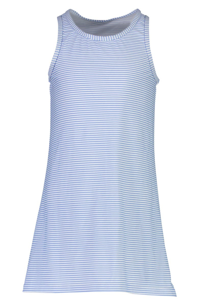 SNAPPER ROCK Sleeveless Stripe Cover-Up, Main, color, BLUE