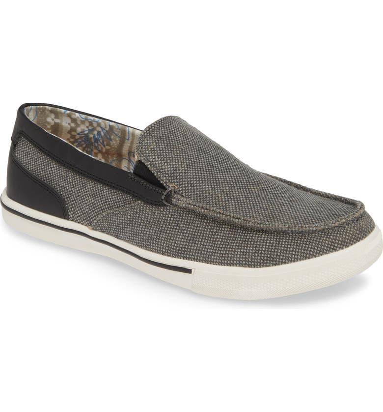 TOMMY BAHAMA Calderon Loafer, Main, color, GREY MULTI CANVAS/ LEATHER