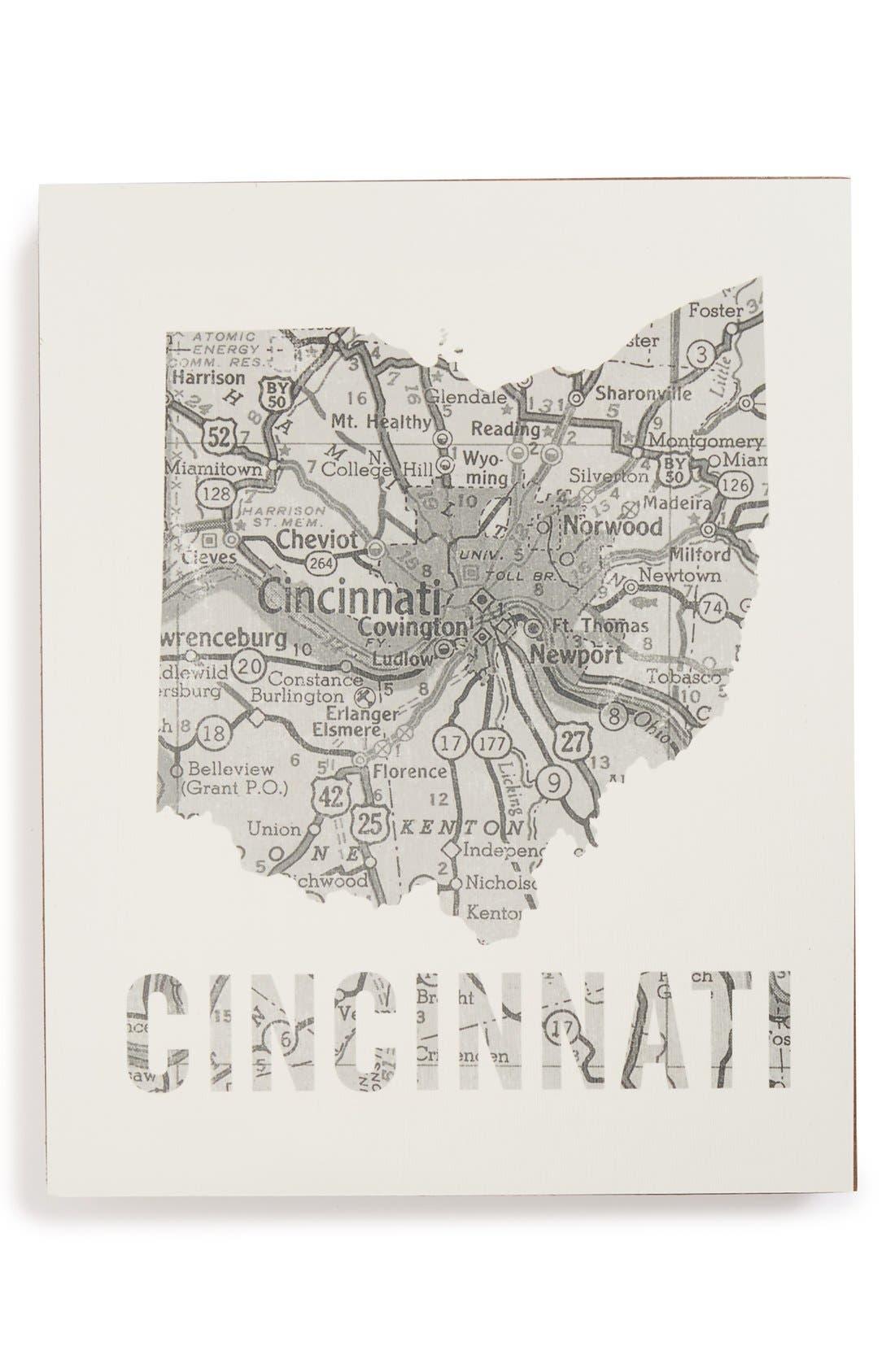 ,                             City Map Wall Art,                             Main thumbnail 10, color,                             029