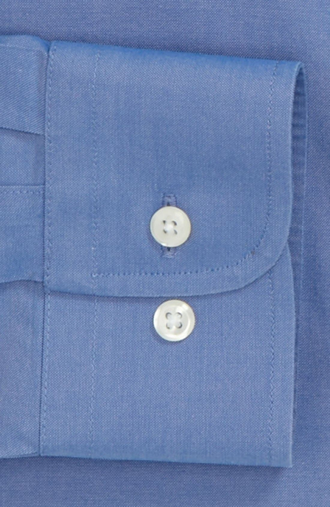 ,                             Smartcare<sup>™</sup> Trim Fit Solid Dress Shirt,                             Alternate thumbnail 22, color,                             420