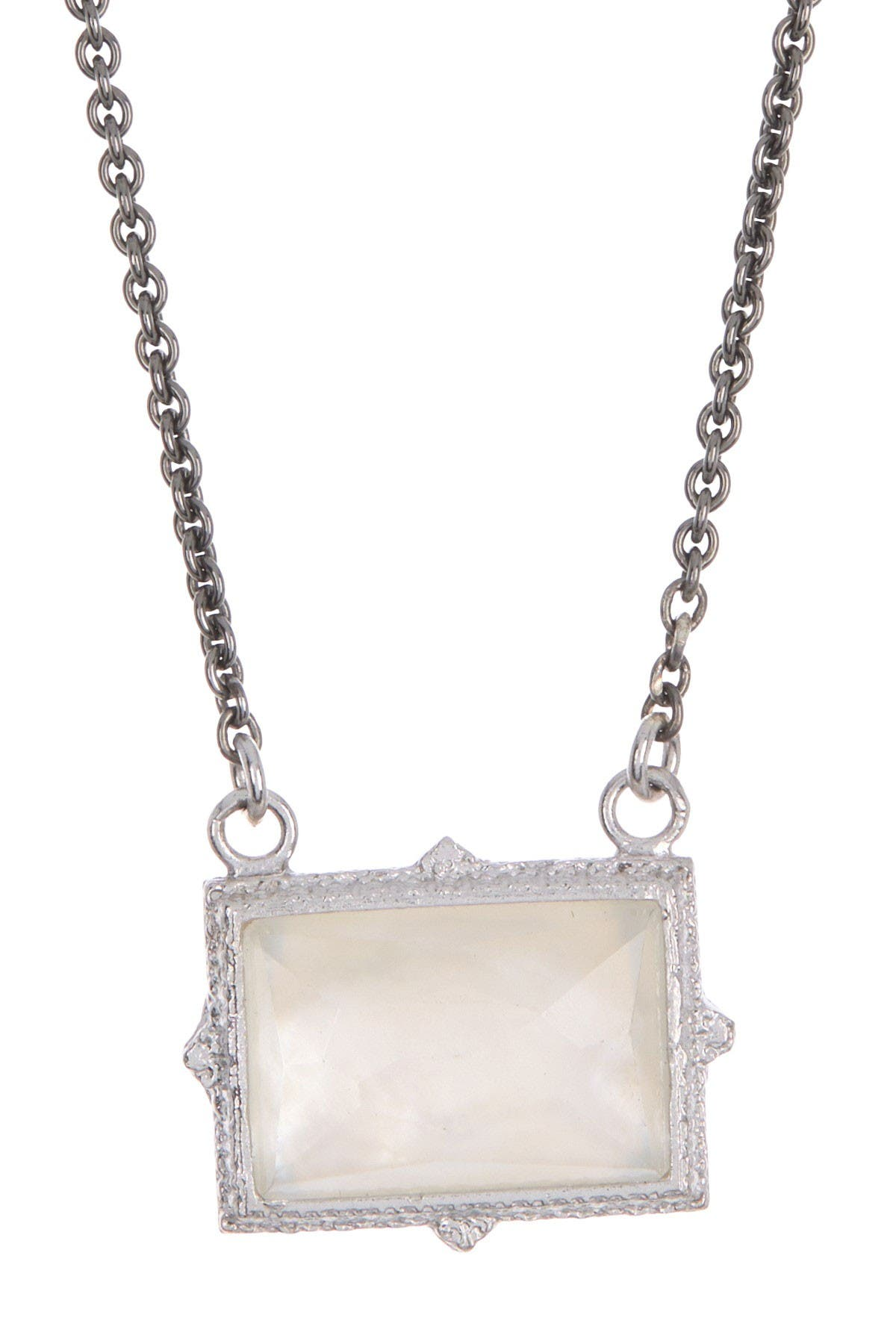 Image of ARMENTA New World Topaz Pendant Sterling Silver Necklace