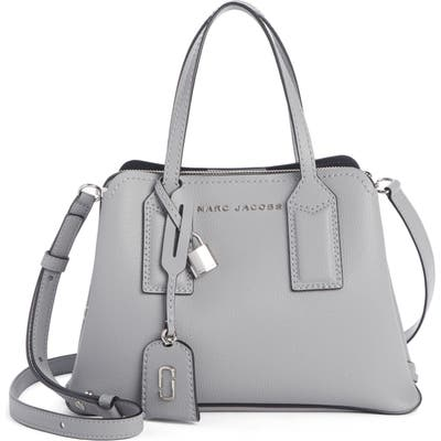 Marc Jacobs The Editor 29 Leather Crossbody Bag - Grey