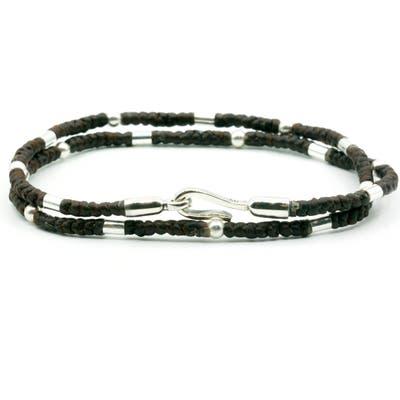 Caputo & Co. Cord Wrap Bracelet