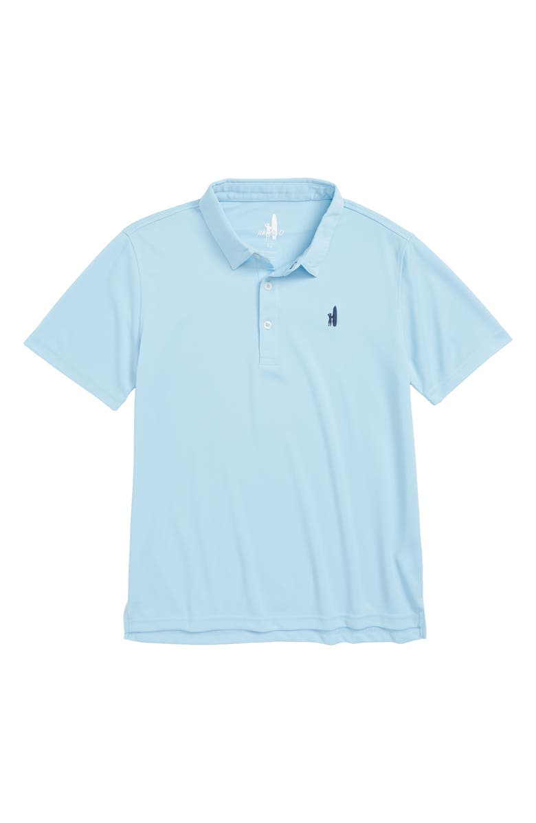 JOHNNIE-O Fairway Polo, Main, color, GULF BLUE