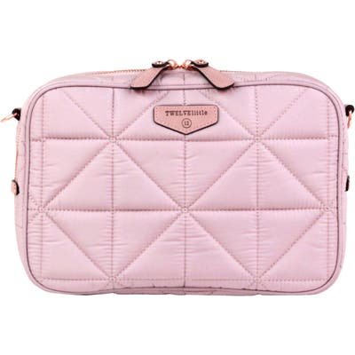 Infant Twelvelittle Water Resistant Nylon Diaper Clutch - Pink