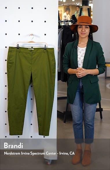 Miranda Stretch Cotton Pants, sales video thumbnail