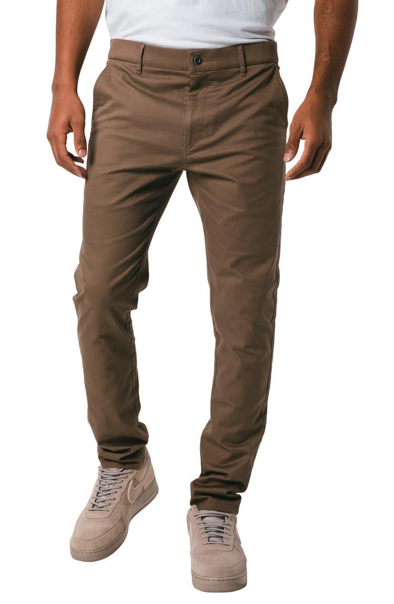 ZANEROBE Snapshot Slim Fit Chinos, Main, color, 200