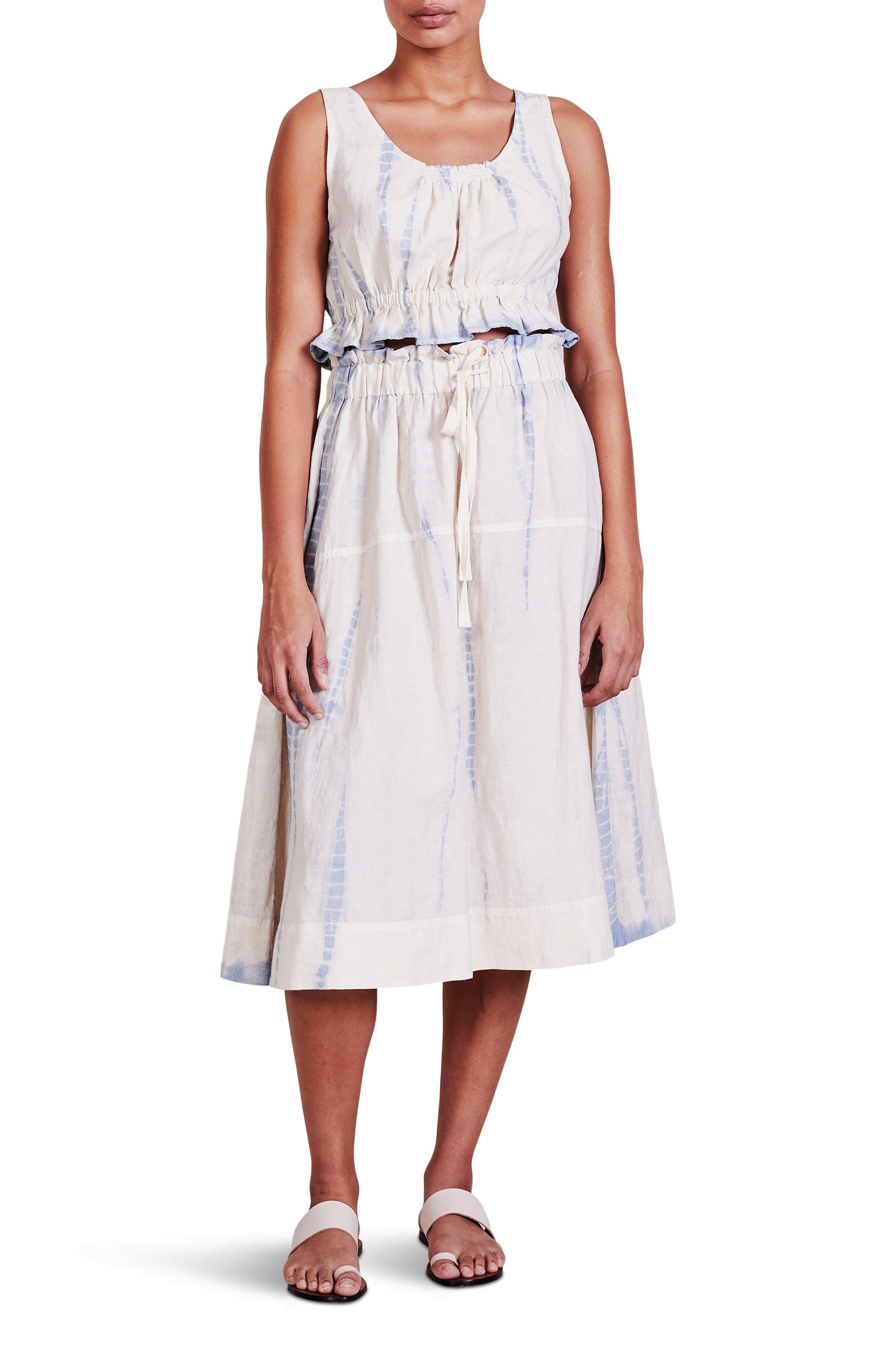 Hermosa Organic Cotton Blend Skirt