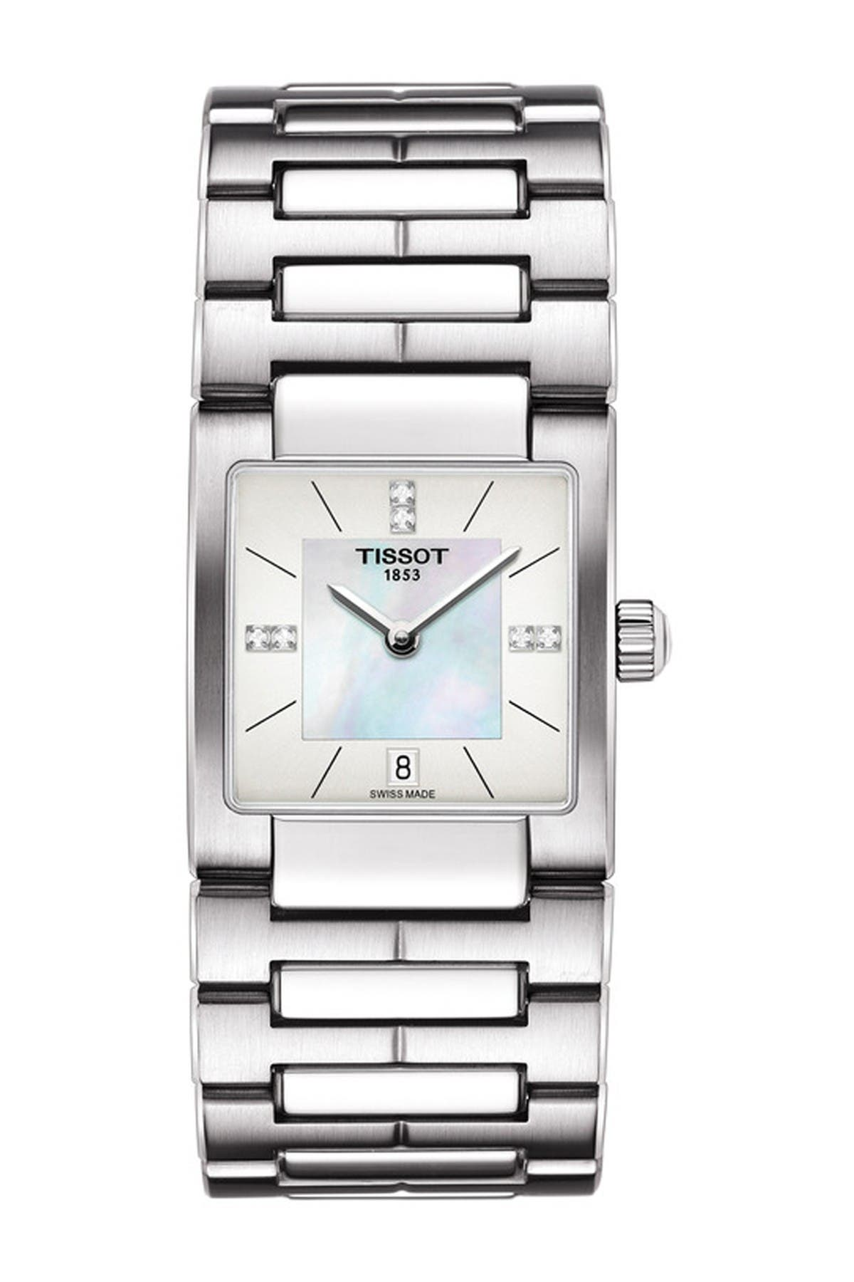 Image of Tissot Women's Lady T-02 Swiss Quartz Watch, 31mm - 0.0228 ctw