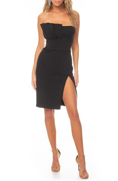 Katie May  DIGNIFIED STRAPLESS MINIDRESS