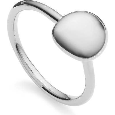 Monica Vinader Nura Small Pebble Stacking Ring
