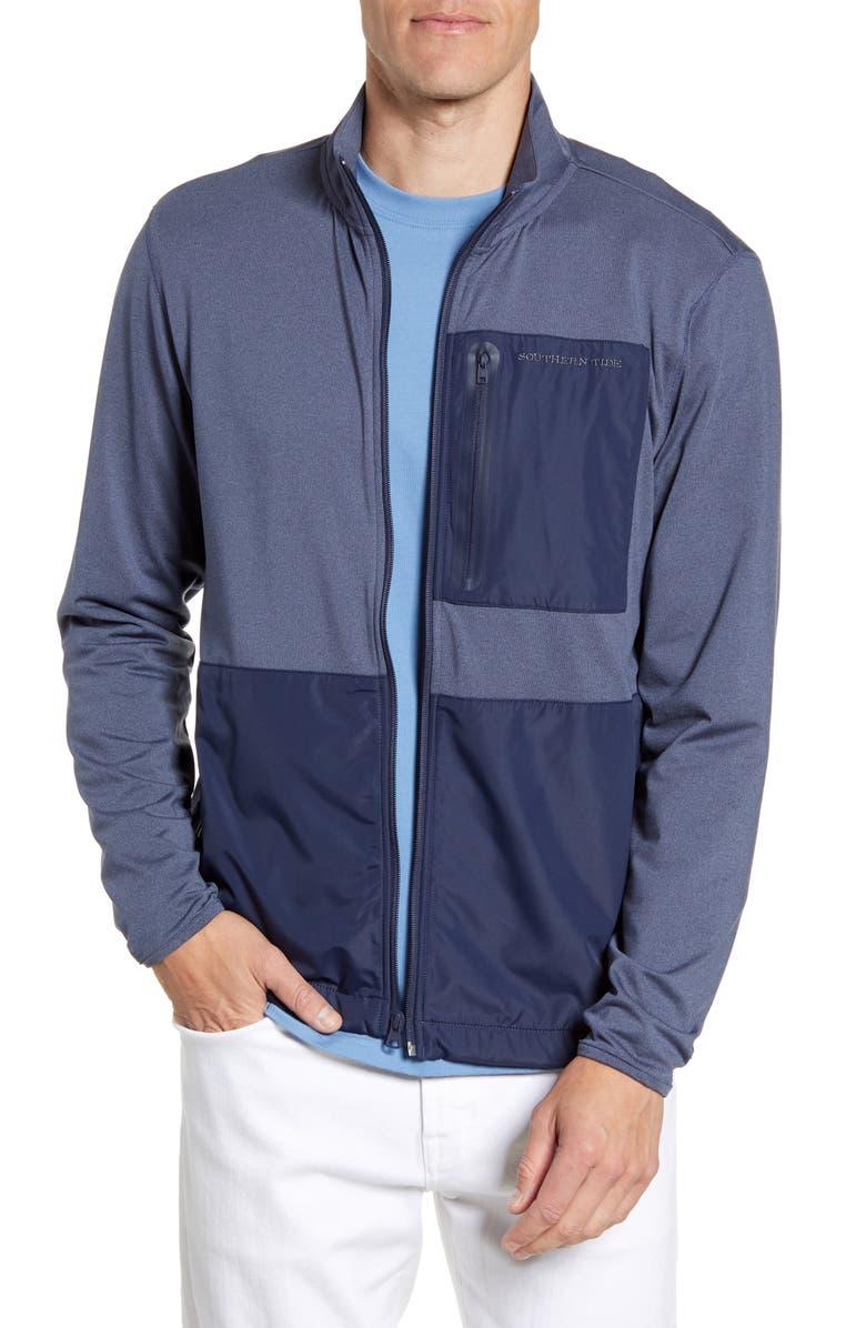 SOUTHERN TIDE Sea Foam Jacket, Main, color, 499