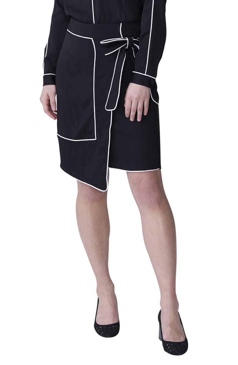 UNIVERSAL STANDARD Navia Outline Skirt, Main, color, 001