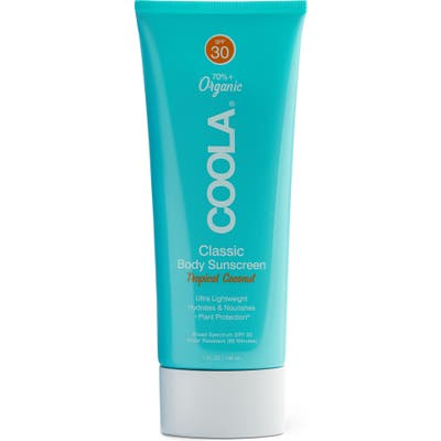 Coola Suncare Tropical Coconut Classic Body Organic Sunscreen Lotion Spf 30