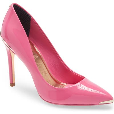 Ted Baker London Izbell Pointed Toe Pump, Pink