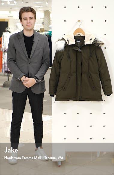 Faux Fur Trim Short Parka, sales video thumbnail