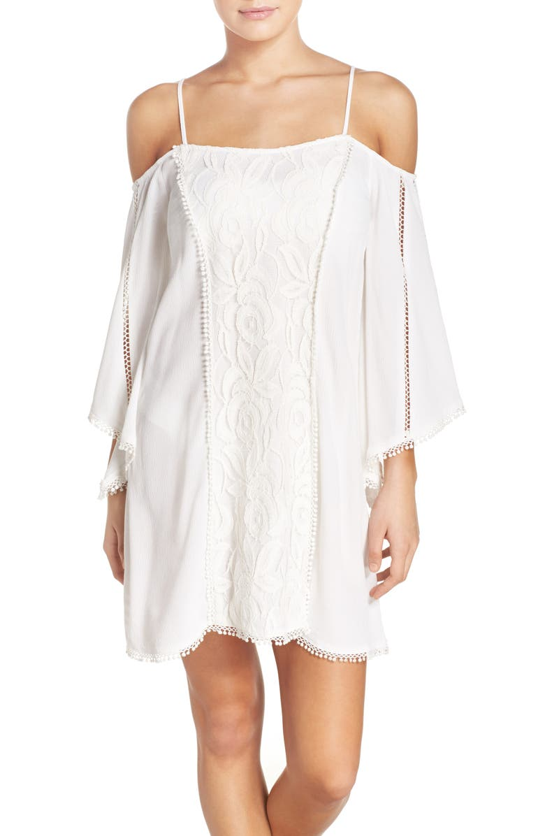 L SPACE Oracle Cover-Up Dress, Main, color, 104