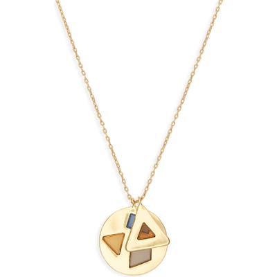 Madewell Stained Glass Charm Necklace