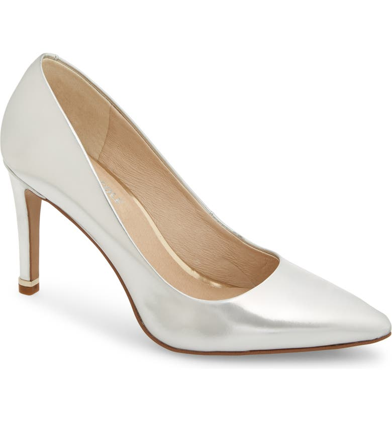 KENNETH COLE NEW YORK Riley 85 Pump, Main, color, SILVER