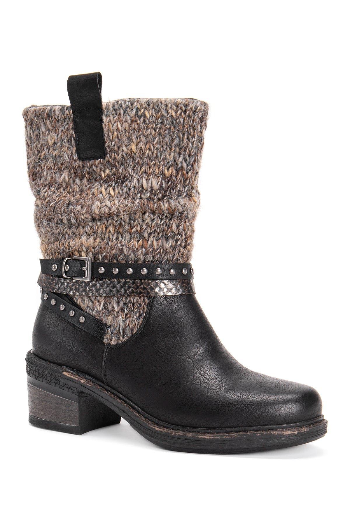 Image of MUK LUKS Kim Block Heel Boot