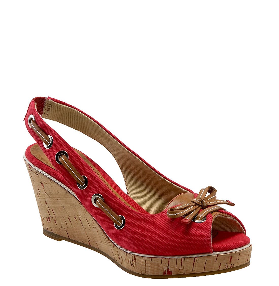 ,                             Top-Sider<sup>®</sup> 'Southport' Slingback Wedge,                             Main thumbnail 11, color,                             600