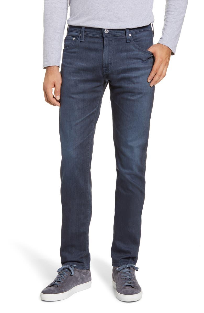 AG Tellis Slim Fit Jeans, Main, color, GUARD