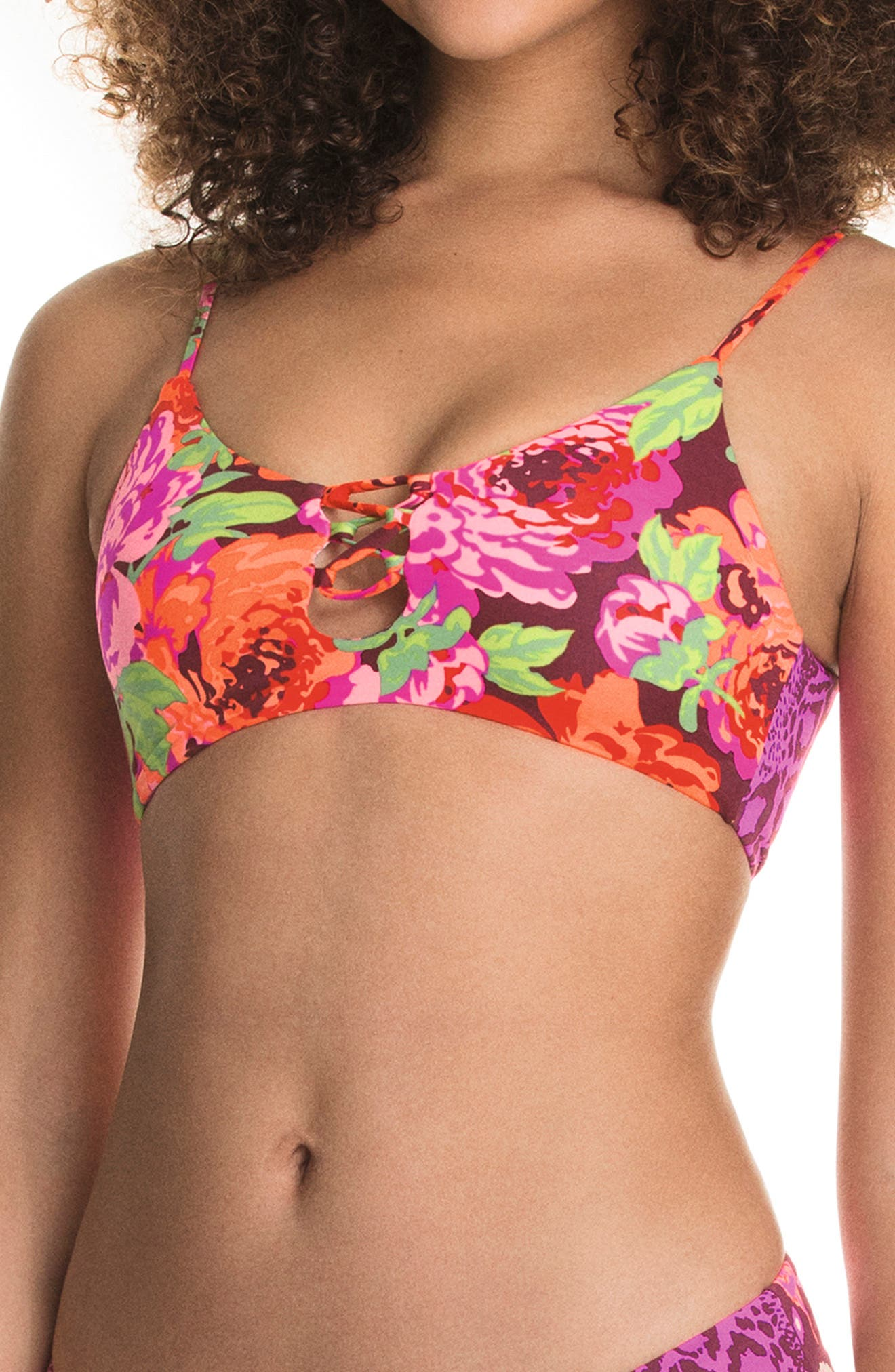 Color Craze Costa 4-Way Reversible Bikini Top