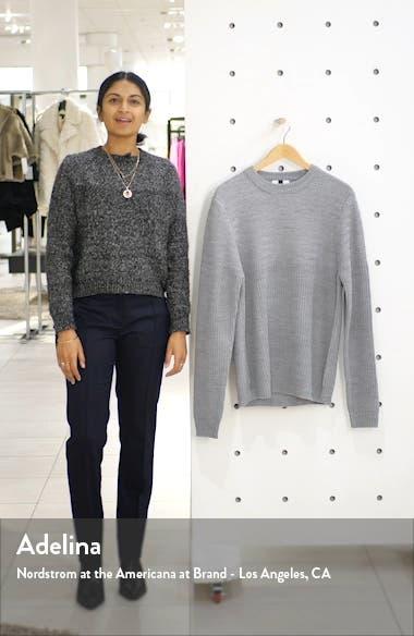 Mixed Stitch Crewneck Sweater, sales video thumbnail