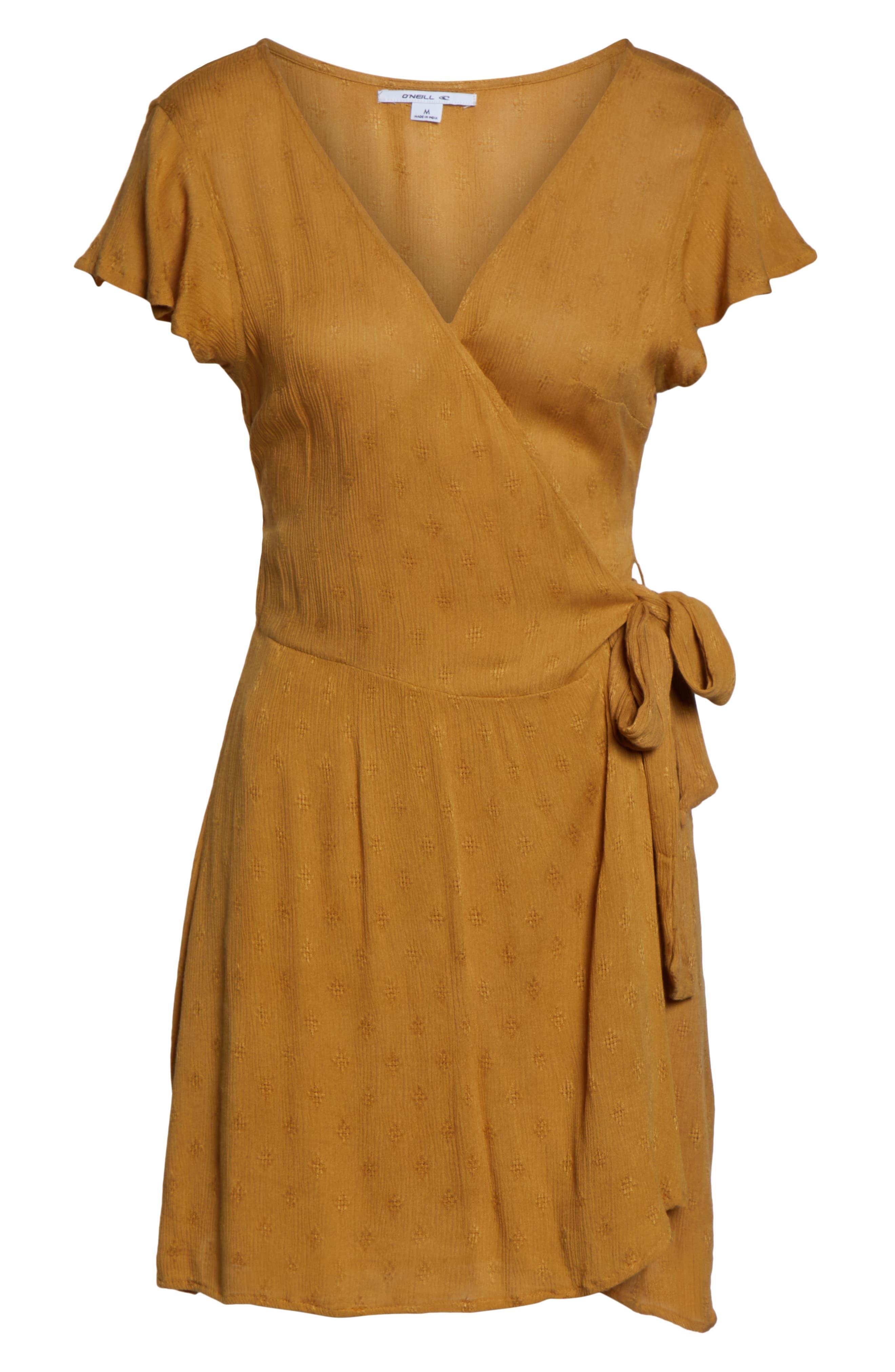 ,                             Maureen Wrap Dress,                             Alternate thumbnail 8, color,                             700