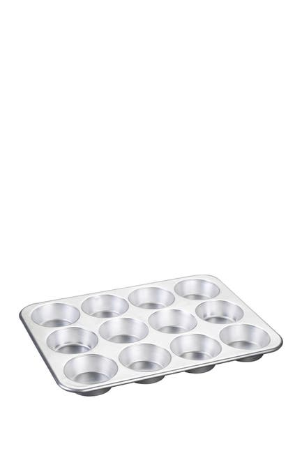 Image of Nordic Ware Silver Muffin Pan