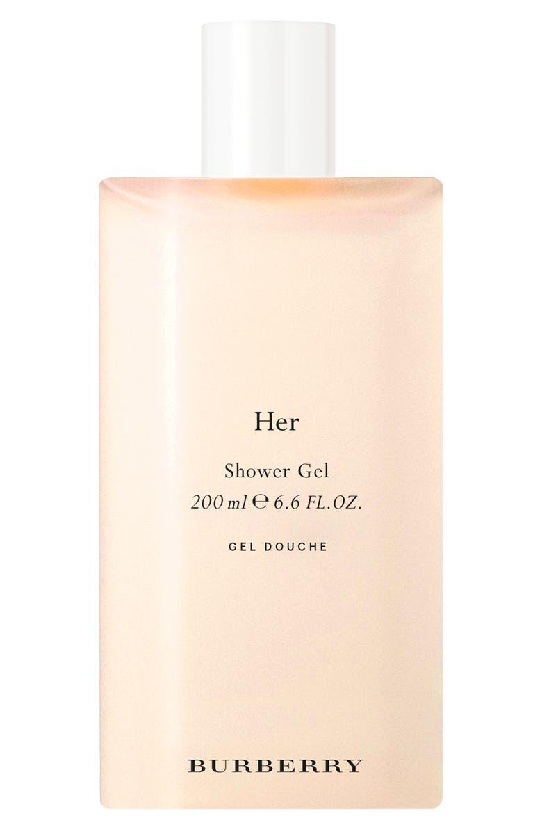 BURBERRY Her Shower Gel, Main, color, 000