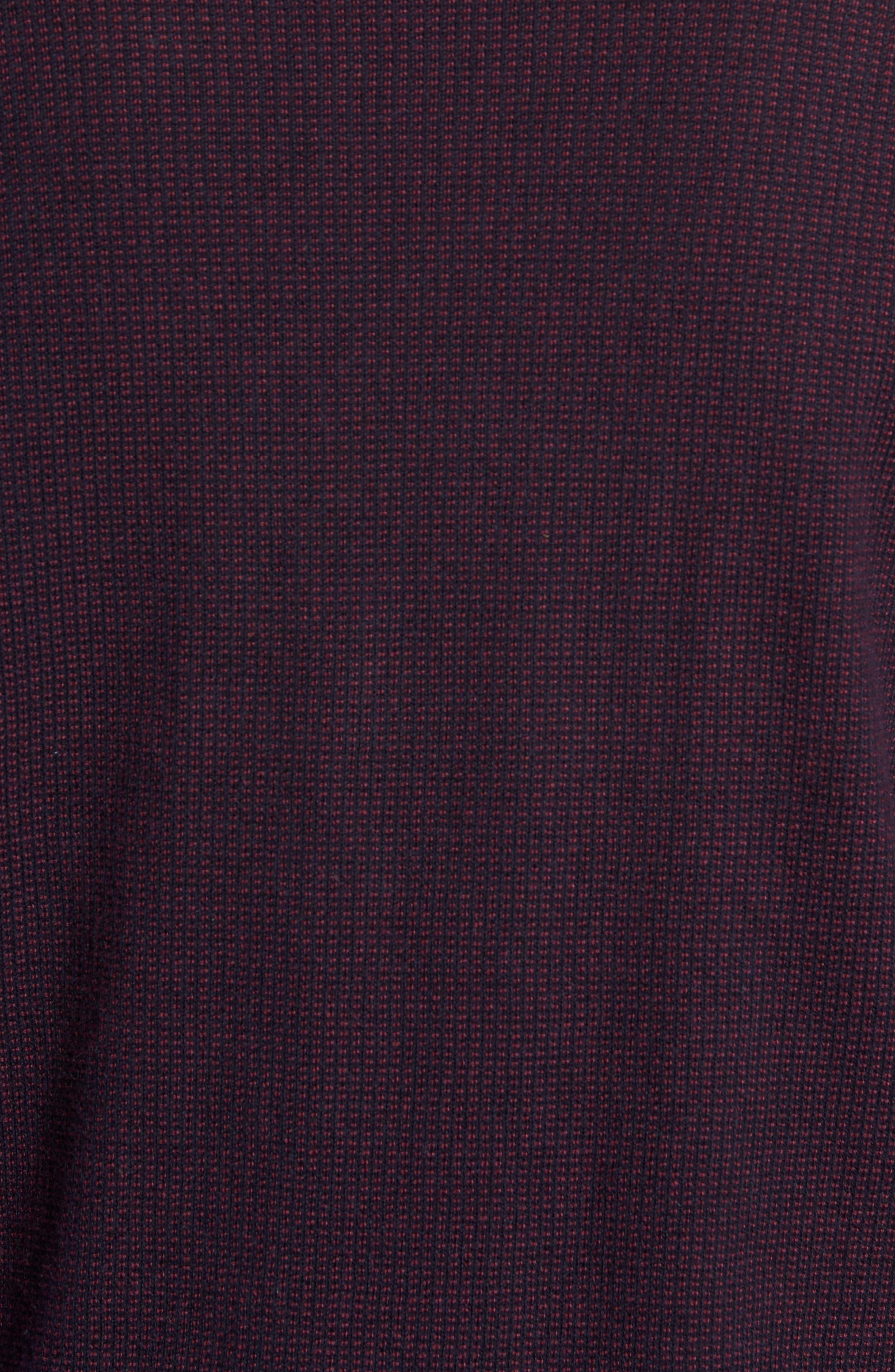,                             Kimball Regular Fit Henley Sweater,                             Alternate thumbnail 5, color,                             WINE