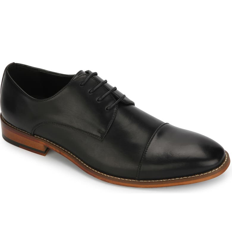 REACTION KENNETH COLE Blake Cap Toe Derby, Main, color, 001